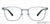 Lenskart Air Grey Eyeglasses 144160