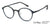 Lenskart Air Blue Eyeglasses 143091