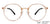 Lenskart Air Beige Eyeglasses 146285