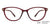 Lenskart Air Maroon Eyeglasses 136721