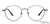 Vincent Chase Metal Eyeglasses 134828