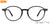Lenskart Air Blue Eyeglasses 135185 - Lenskart