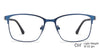 Lenskart Air Blue Eyeglasses 140277