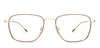 Vincent Chase Gold Eyeglasses 140492