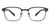 Vincent Chase Black Eyeglasses 140396