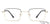 Vincent Chase Golden Eyeglasses 136768