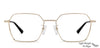 Vincent Chase Gold Eyeglasses 143376