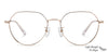 Vincent Chase Gold Eyeglasses 143383