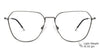 Vincent Chase Metal Eyeglasses 145545