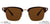 Vincent Chase Polarized Brown Sunglasses 122262
