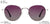 Vincent Chase Polarized Silver Sunglasses 146637