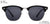 Vincent Chase Polarized Black Sunglasses 146993