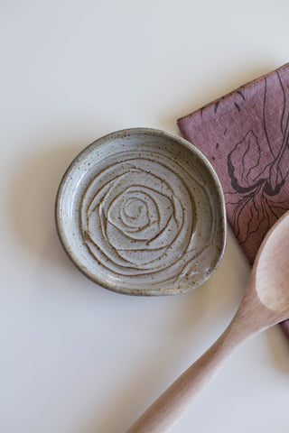Stoneware Spoon Rest