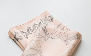 Anatomy of a Horse Silk Scarf