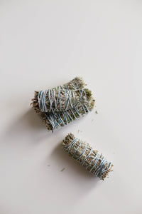 Sage, Juniper, Sweetgrass Smudge