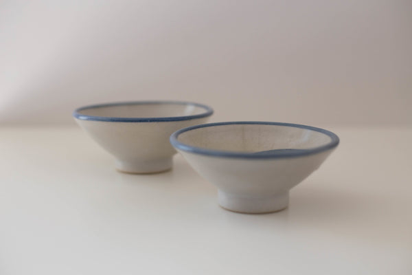Set of Ceramic Tea Bowls | Vintage
