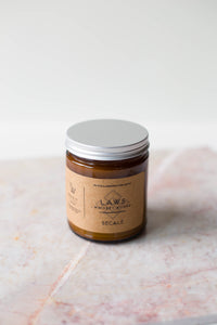 Laws Whiskey House Soy Candle