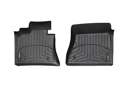 WeatherTech FloorLiner - Front - Black - AC Cars