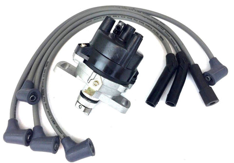 524+1700 IGNITION DISTRIBUTOR + SPARK PLUG WIRE SET DAEWOO MATIZ L3 1.3L 00-2002