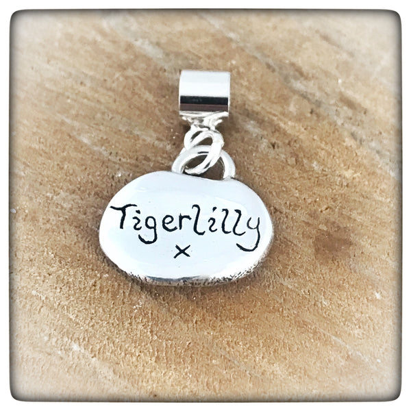 Sterling Silver Cat Nose Charm