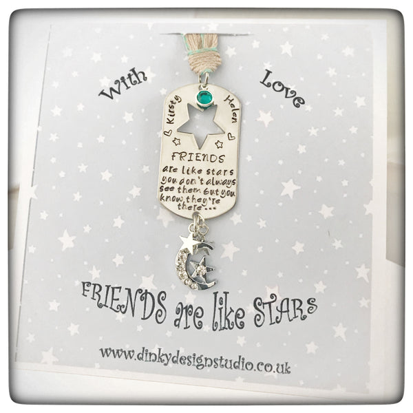 "NEW ""Friends are like Stars"" Christmas Decoration"