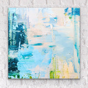 Urban abstract affordable fine art print on plexiglass acrylic