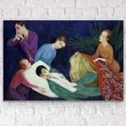 Classical art reproduction affordable fine art print on acrylic glass