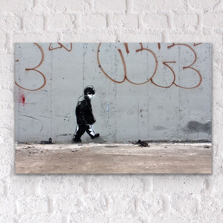 Graffiti street affordable fine art print on plexiglass acrylic
