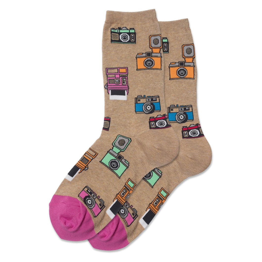 Vintage Retro Camera / Photography Socks (Women's)