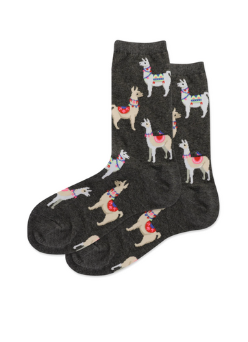 Alpaca Socks (Women's) Farm animal