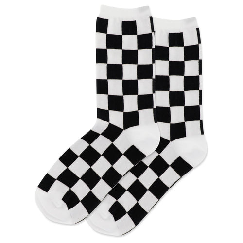 Checkerboard Socks (Women's)