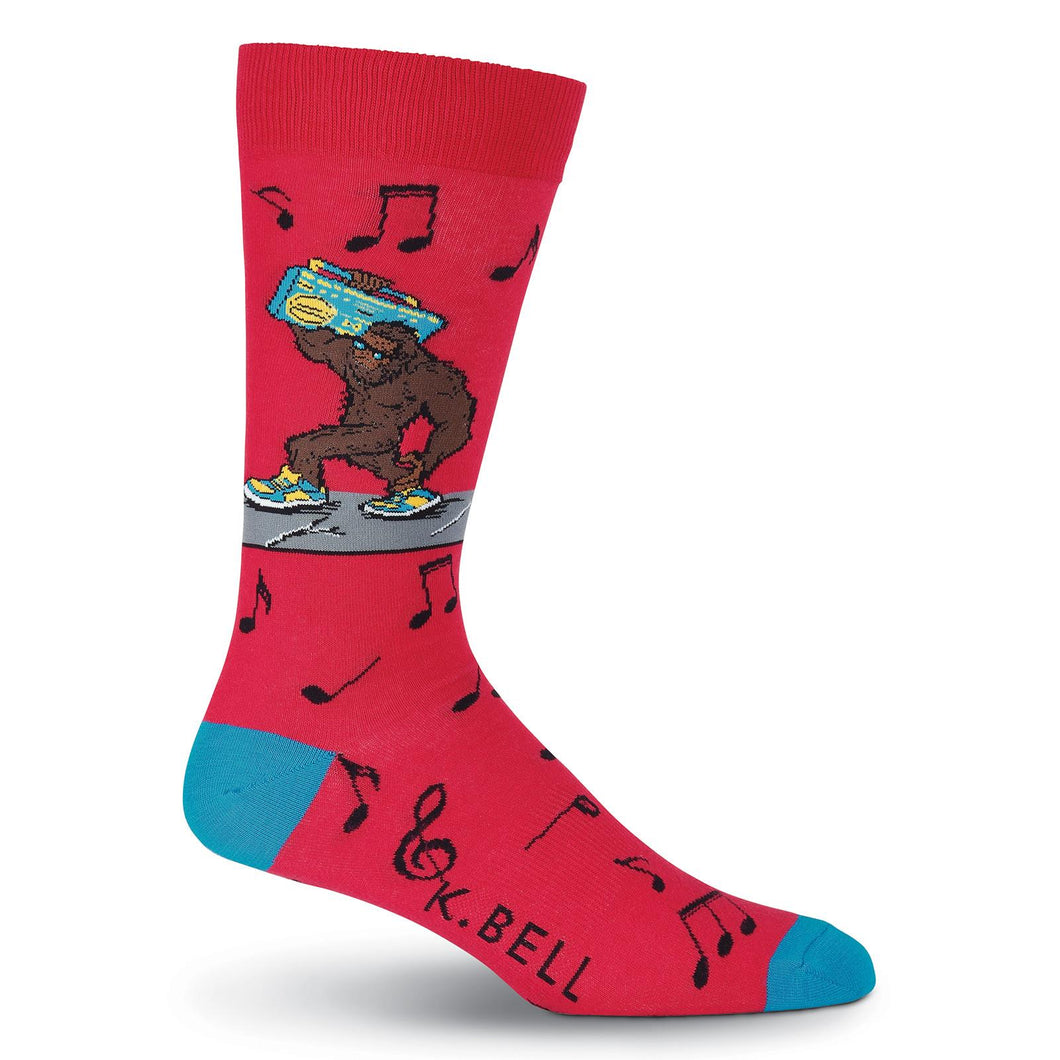 Boom Box Big Foot Music Socks (Men's)