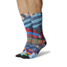 Load image into Gallery viewer, Graffiti Wall Design Socks (Men's )