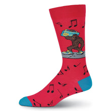 Load image into Gallery viewer, Boom Box Big Foot Music Socks (Men's)