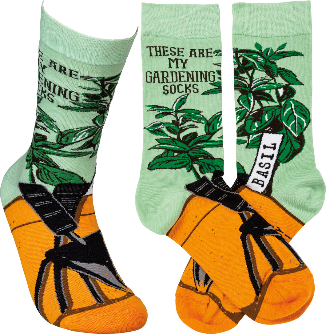 These Are My Gardening Socks (Unisex)