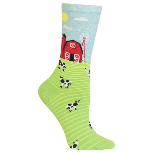 Farm Scene/ Country Life Socks (Women's)