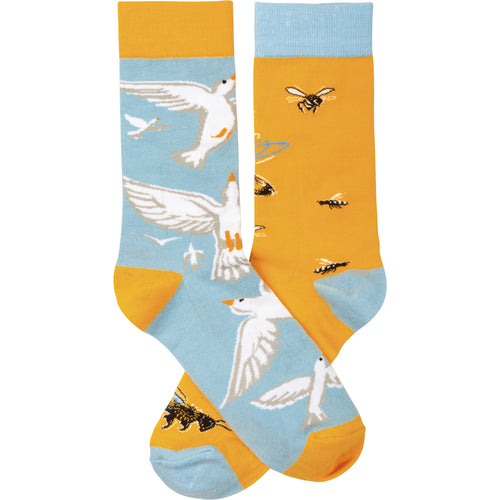 Birds and the Bees Socks (Unisex)