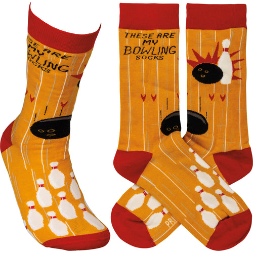 These are my Bowling Socks (Unisex)