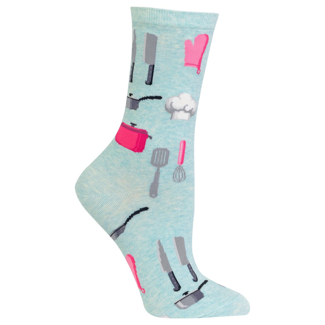 Chef / Cook/ Culinary Socks (Women's)