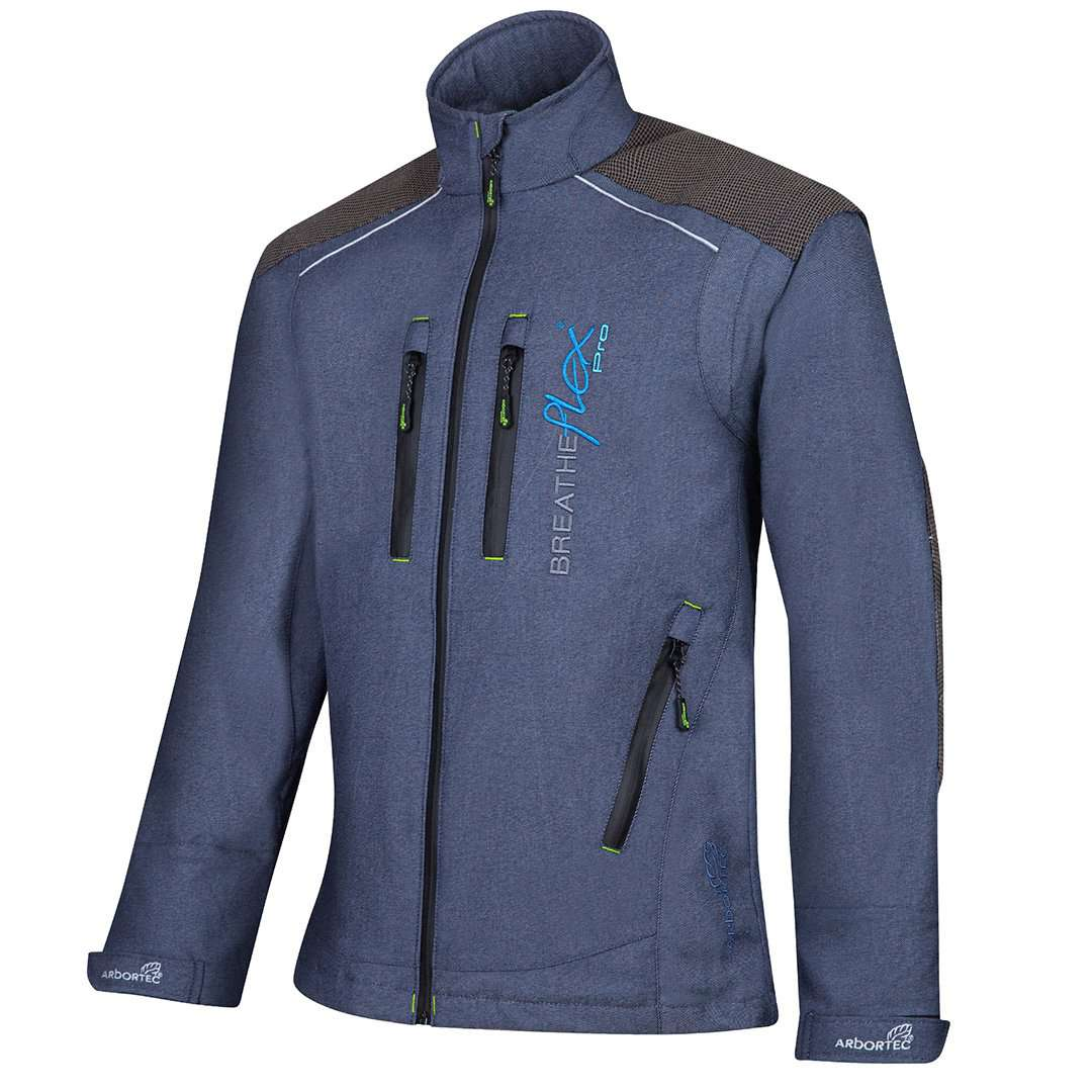 arbortec breatheflex pro work jacket in denim colour