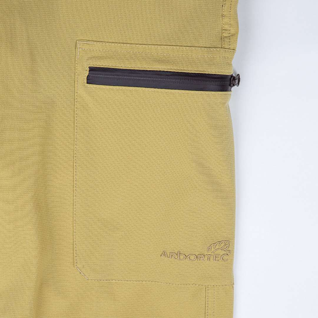 Arborflex Casual Skin Trousers Beige Front Leg Pocket AT4155