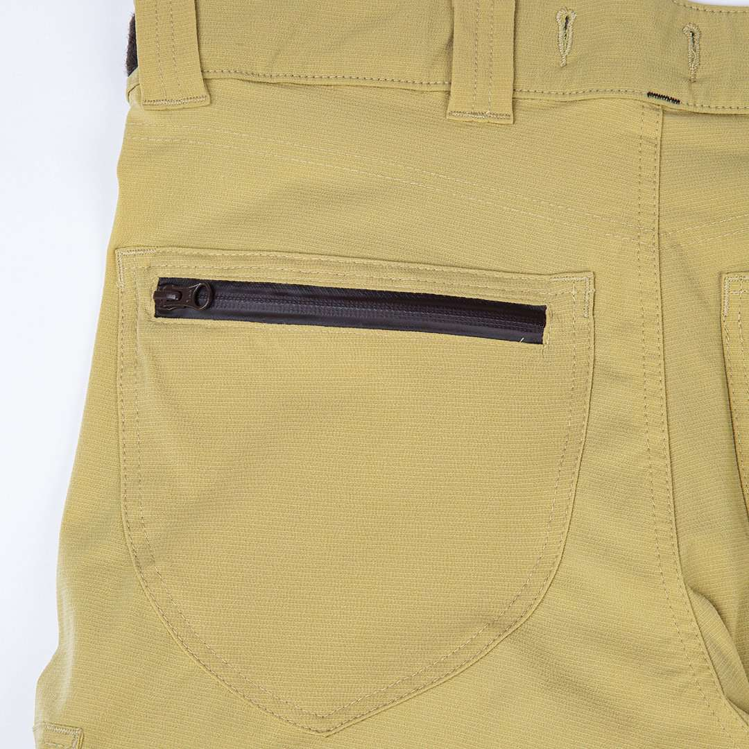 Arborflex Casual Skin Trousers Beige Rear Zip Pocket AT4155