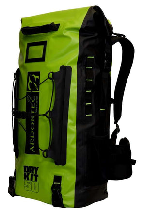 AT104 Python Back Pack- Lime 50L