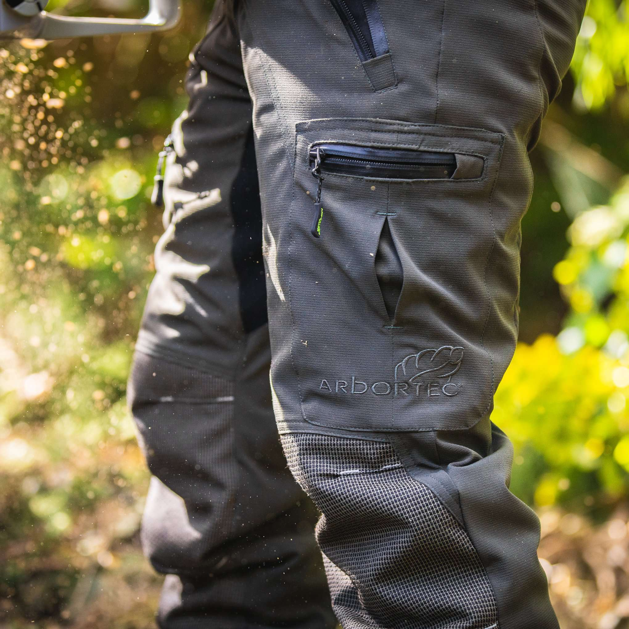 AT4070 Breatheflex Pro Type C Class 1 Chainsaw Trousers - Olive