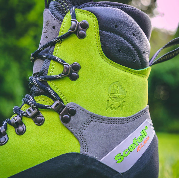 Scafell Lite Class 2 Chainsaw Boot - Lime