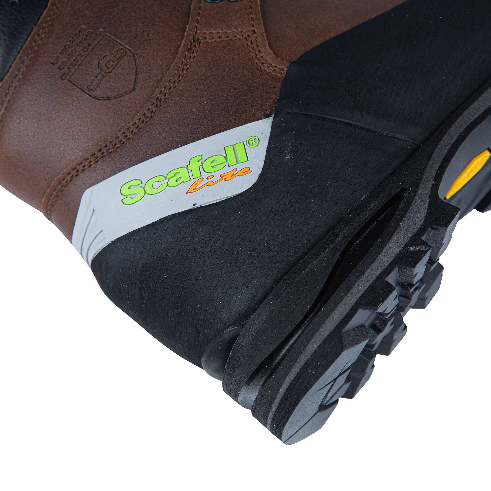 Scafell Lite Class 2 Chainsaw Boot - Brown - AT33200 - Arbortec Forestwear