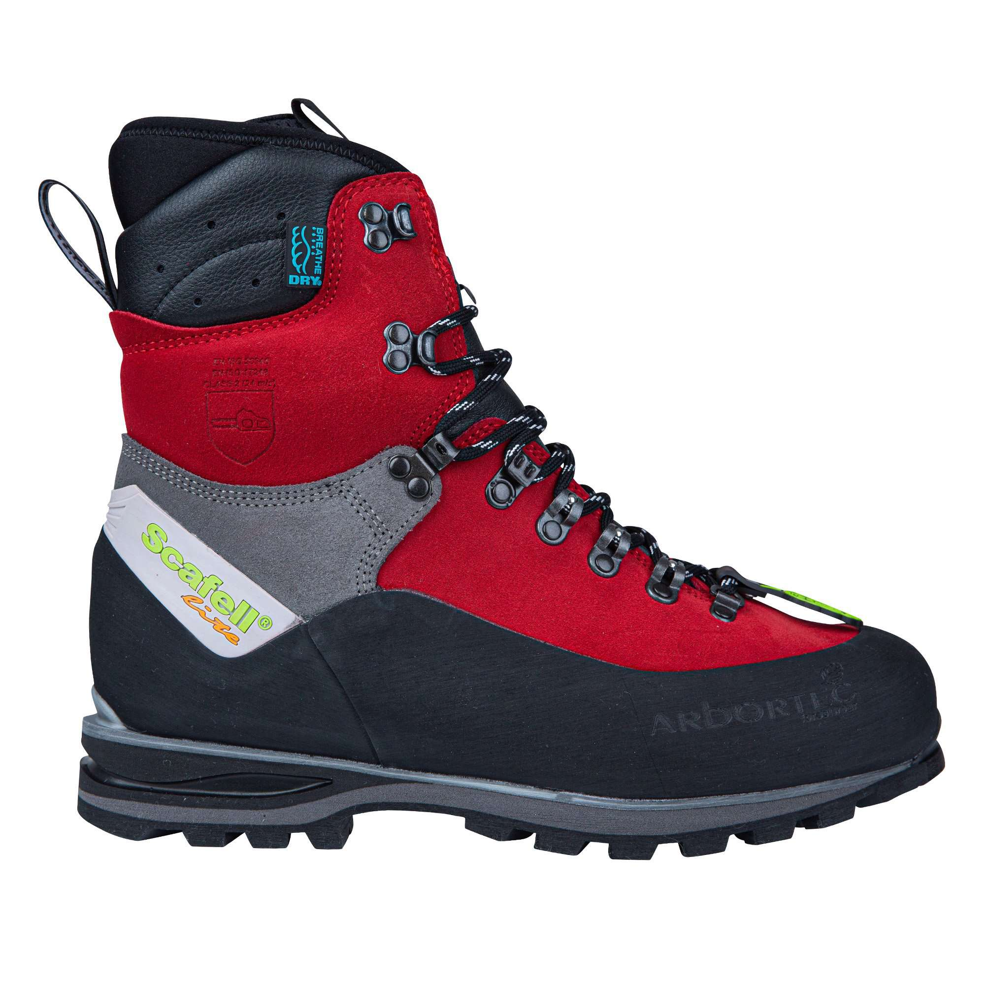 Scafell Lite Class 2 Chainsaw Boot - Red - AT33400