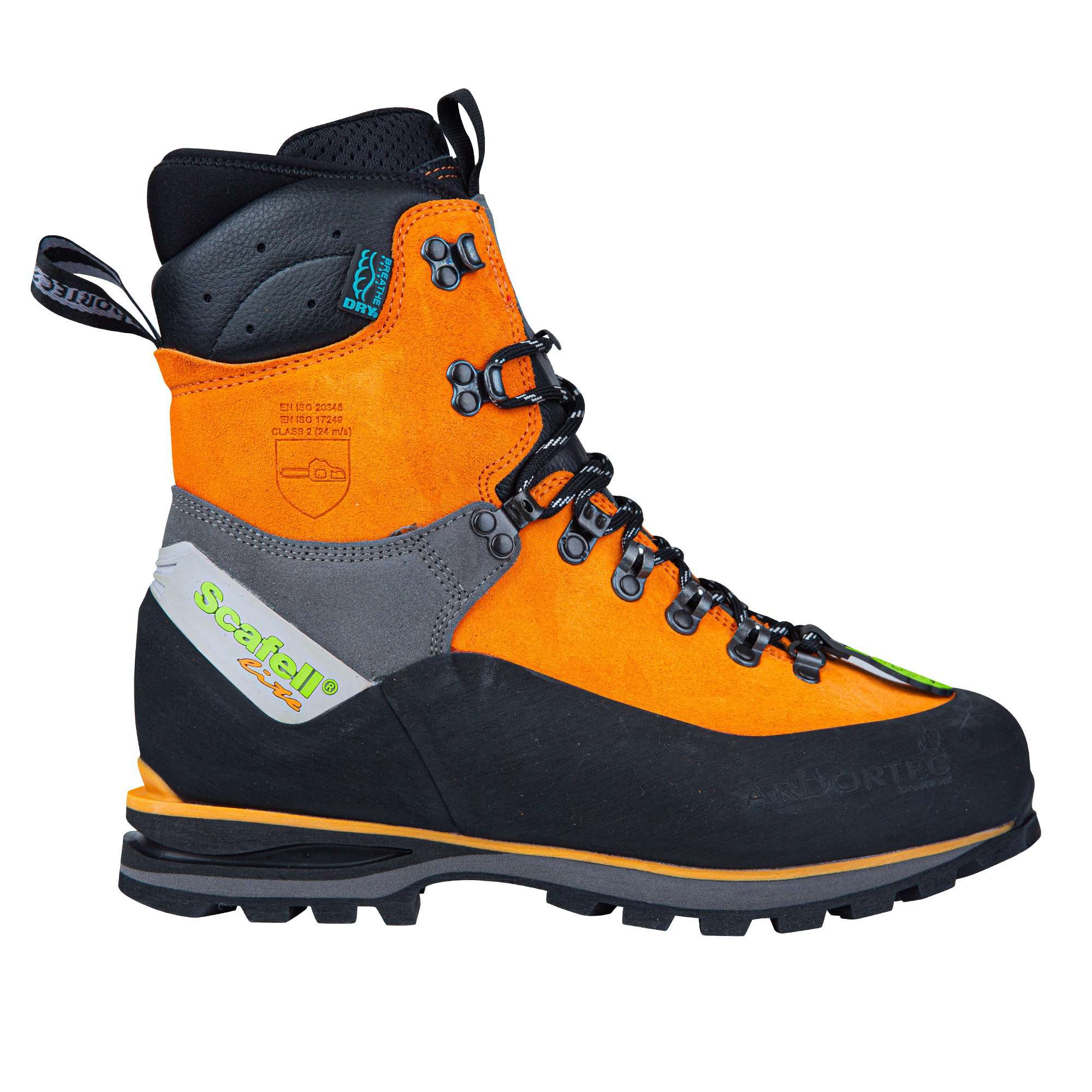 Scafell Lite Class 2 Chainsaw Boot - Orange - AT33500