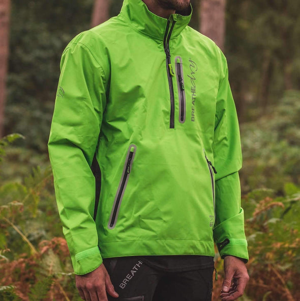 Breathedry Waterproof Smock Lime