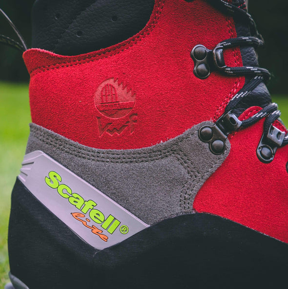 Scafell Lite Class 2 Chainsaw Boot - Red